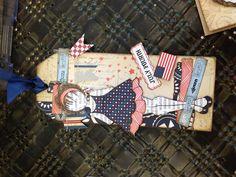 Prima paper dolls - 4th of July