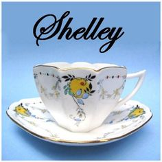 Shelley LARGE FRUIT pattern QUEEN ANNE   shape 1927 $120- $160 for C,S,P.