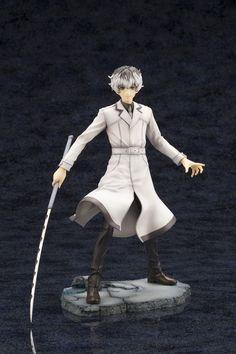 "Crunchyroll - ""Tokyo Ghoul:re"" Protagonist Haise Sasaki ARTFX J Figure Looks Cool with His Yukimura 1/3"