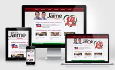 Site com layout feito em Photoshop e programado em PHP com painel admimistrativo.