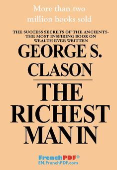 The Richest Man In Babylon PDF By George S. Clason in PDF #pdf #book #rich #englishbook #books