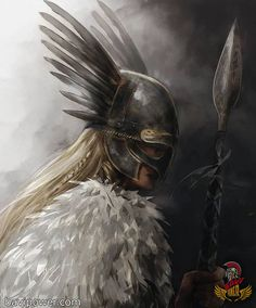 Valkyrie (Old Norse Valkyrja), in Norse mythology, any of a group of maidens who. - Valkyrie (Old Norse Valkyrja), in Norse mythology, any of a group of maidens who. Valkyrie Norse Mythology, Norse Goddess, Norse Pagan, Old Norse, Norse Mythology Tattoo, Thor, Valkyrie Tattoo, Shield Maiden, Viking Warrior