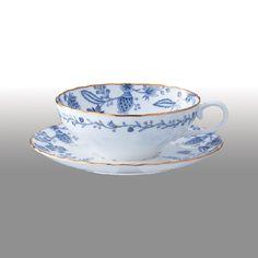 ブルーソレンティーノ ティー碗皿