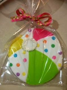 Beach Ball Cookie https://www.facebook.com/SweetHavenCypress?ref=bookmarks