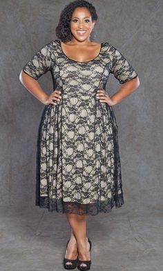 Plus Size Wedding Guests Dresses For Fall This semi formal plus size