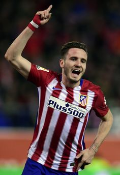 Saúl Ñíguez is a Spanish professional footballer who plays for Atlético Madrid as a central or defensive midfielder.