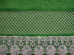Trabalho da artesã Leila Jacob, Crivo & Cia: Março 2011