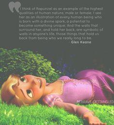 Animator Glen Keane on Rapunzel. Disney Rapunzel, Arte Disney, Disney Magic, Tangled Rapunzel, Disney Princess Quotes, Disney Quotes, Rapunzel Quotes, Tangled Quotes, Images Disney