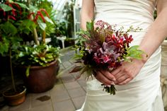 Carnivorous plant bouquet // Ryan Anson Photography