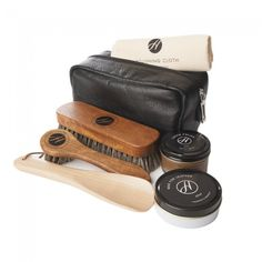 H by Hudson Luxury Shoe Care Kit is a great gift for the man who has everything.