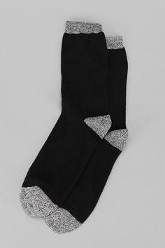 Marled-Tip Sock