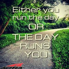Don't let a busy day take away your run! Your mental and physical health are far too important.