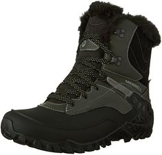 Merrell Women's Fluorecein Shell 8 Waterproof Winter Boot, Black, 11 M US *** Read more reviews of the product by visiting the link on the image.