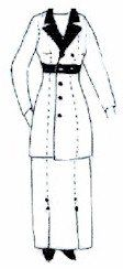 Amazon.com: 1910 - 1915 Double Breasted Jacket Pattern: Everything Else