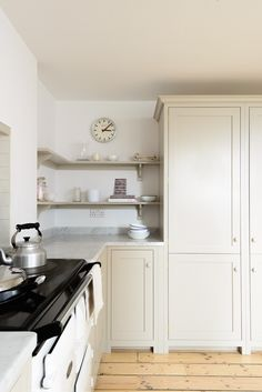 A lovely big pantry cupboard in deVOL's Brighton Kitchen