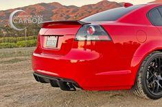 Pontiac G8 Sedan Ducktail Spoiler – Maverick Man Carbon Pontiac G8, Car Covers, Custom Items, Two By Two, Trunks, Abs, Drift Wood, Crunches, Tree Trunks
