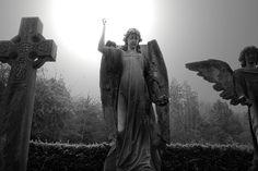 Angel at Arnos Vale cemetary, Bristol.