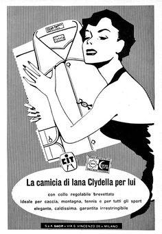 camicia Clydella 1957