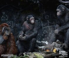 Archives Of The Apes: Dawn Of The Planet Of The Apes (2014) Part 30
