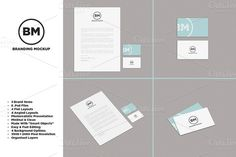 Check out [-30%]Clean Branding/Identity Mockup by DanFreebairn on Creative Market