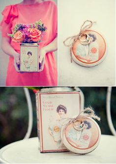 DIY Ring Holder by Threaded Together Photography via Style Me Pretty