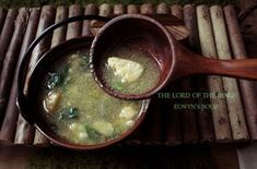 The Lord of the Rings: Eowyn's Fish Soup recipe inspired by the scene from the movie between Aragorn and Eowyn. Fish Soup, Dinner And A Movie, Second Breakfast, Kid Friendly Dinner, Food Themes, Cooking With Kids, Cooking Ideas, Lord Of The Rings, Recipes