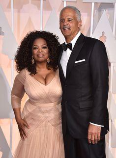 Oprah Winfrey e Stedman Graham