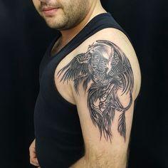Phoenix tattoo anka dövmesi zumruduanka anka tattoo kol dövmesi bodrum tattoo bodrum dövme ali yuksel ali baba tattoo bodrum tattoo Phoenix Tattoo Sleeve, Phoenix Bird Tattoos, Phoenix Tattoo Design, Skull Tattoo Design, Sleeve Tattoos, Tattoo Designs, Fenix Tattoo, Dj Tattoo, Tattoo For Son
