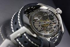 Big open transparent back … Pilot, Military, Watch, Design, Clock, Bracelet Watch, Pilots, Clocks