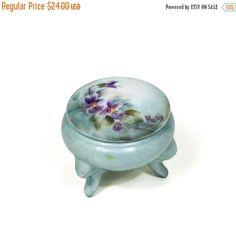 25% Off October Sale Limoges Porcelain by VintageMeetModern