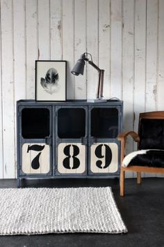Light 789 Industrial Cabinet from Rockett St George - Retro to Go Industrial House, Industrial Chic, Industrial Furniture, Vintage Industrial, Industrial Storage, Industrial Interiors, Retro Furniture, Home Furniture, Rockett St George