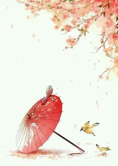 Find images and videos about beautiful, art and nice on We Heart It - the app to get lost in what you love. Art Asiatique, Plum Flowers, Art Japonais, China Art, Japan Art, Anime Scenery, Chinese Painting, Art And Illustration, Cute Wallpapers