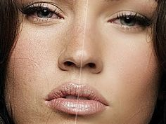 Photoshop Tutorial : How to soften skin (with Megan Fox) - YouTube