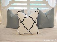 DIY Sharpie Projects- Tutorials, including this DIY sharpie pillow project by Live Love DIY!