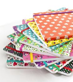 I love notebooks...pretty little notebooks for my bag or bigger ones...I love notebooks....OH and nice pens too.