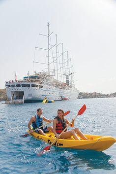 Wind Surf Amenities - Windstar Cruises