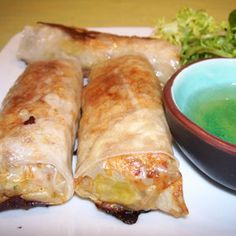Légèreté & Gourmandises: Nems sans friture (3 PP par nem)