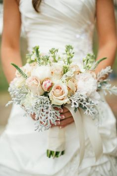 stunning bridal #bouquet | JoPhoto on The Lovely Find | see more on www.thelovelyfind.com...
