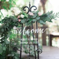 Clear Welcome Sign for Wedding Personalized Painted Sign for signs modern Wedding Welcome Sign Acrylic Wedding Sign Clear Painted for Wedding Display, Modern Wedding Decoration Sign Clear Acrylic (Item - Glitter Table Numbers, Wedding Table Numbers, Simple Church Wedding, Wedding Day, Dream Wedding, Wedding Wishes, Wedding Anniversary, Wedding Blog, Rustic Wedding