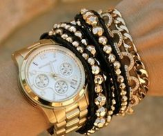 Arm Candy. Stack everything...and I mean everything...