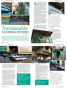 Sustainability, Easy Diy, Things To Come, Woodworking, House Design, Magazine, Green, Magazines, Carpentry