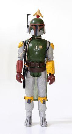 """Vintage Star Wars 12"""" Scale Kenner Boba Fett"""