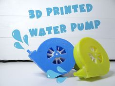 Let's make 3D printed water pump, for learning and of course fun purposes, because we can!
