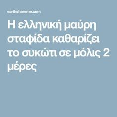 Η ελληνική μαύρη σταφίδα καθαρίζει το συκώτι σε μόλις 2 μέρες Health Remedies, Tips, Beauty, Advice