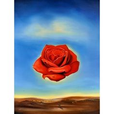 "Rose Meditative"" by Salvador Dali 