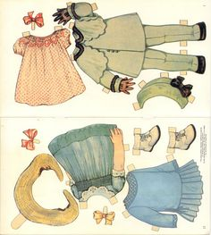 Nancy & Peggy Paper Dolls.This From Patrieiaeurka - MaryAnn - Álbumes web de Picasa
