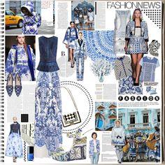 The Fashion Notebook: Azulejos