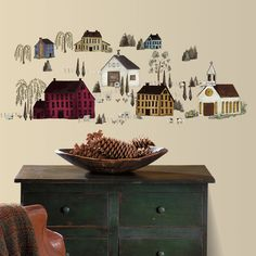 Found it at Wayfair - Country Scenic Wall Decal