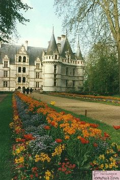 Azay-le-Rideau, Burgundy, France