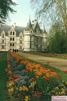 Azay-le-Rideau, Burgundy, France